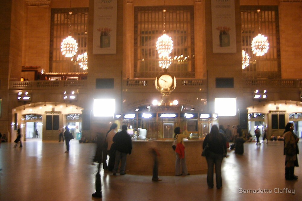 Ghosts in Grand Central by Bernadette Claffey