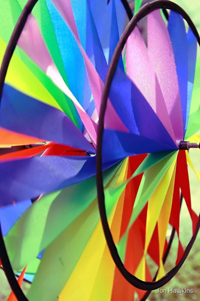 Pin Wheel by Jon Hawkins
