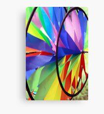 Pin Wheel Canvas Print