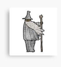 cartoon wizard Metal Print