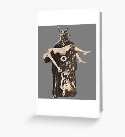 Devil's Bride Greeting Card
