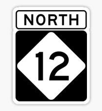 NC 12 - NORD Sticker