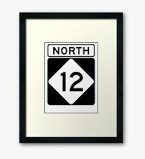 NC 12 - NORTH  Framed Print