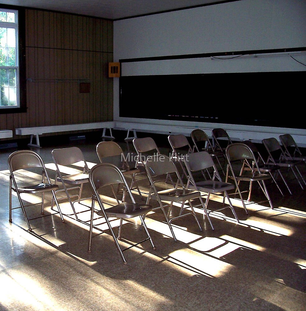 Shadow Seating by Michelle Hitt