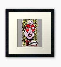 Mari Megatrip Framed Print