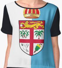 Fiji Flag Design Chiffon Top