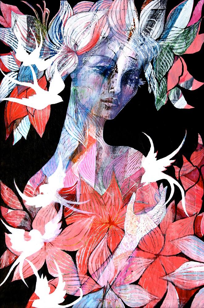 Fallen birds by Shannon Crees