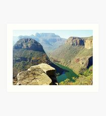 Blyde River Canyon, South Africa Art Print