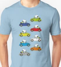 SNOOPY CARS Unisex T-Shirt