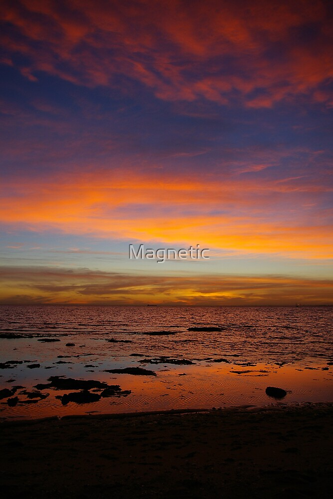 Sunset Vertical by Magnetic