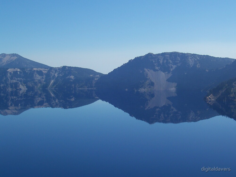 Crater Lake II by digitaldavers