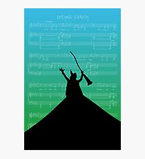 Wicked The Musical Defying Gravity Score Photographic Print