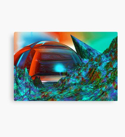 Colour your weekend Canvas Print