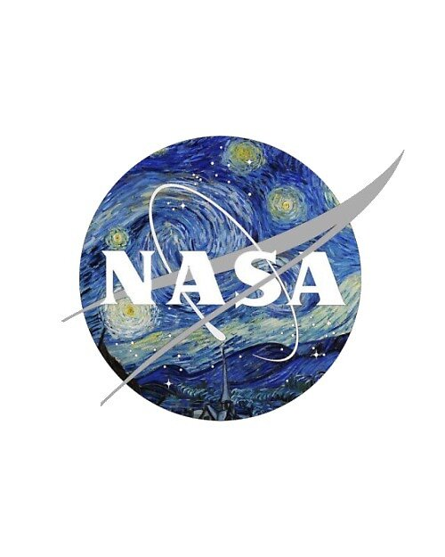 Van Gogh NASA by anything4joji