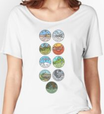 Star Wars Planets Women's Relaxed Fit T-Shirt
