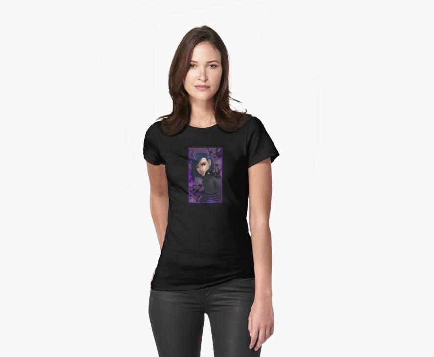 women's goth girl shirt by Cassandra James