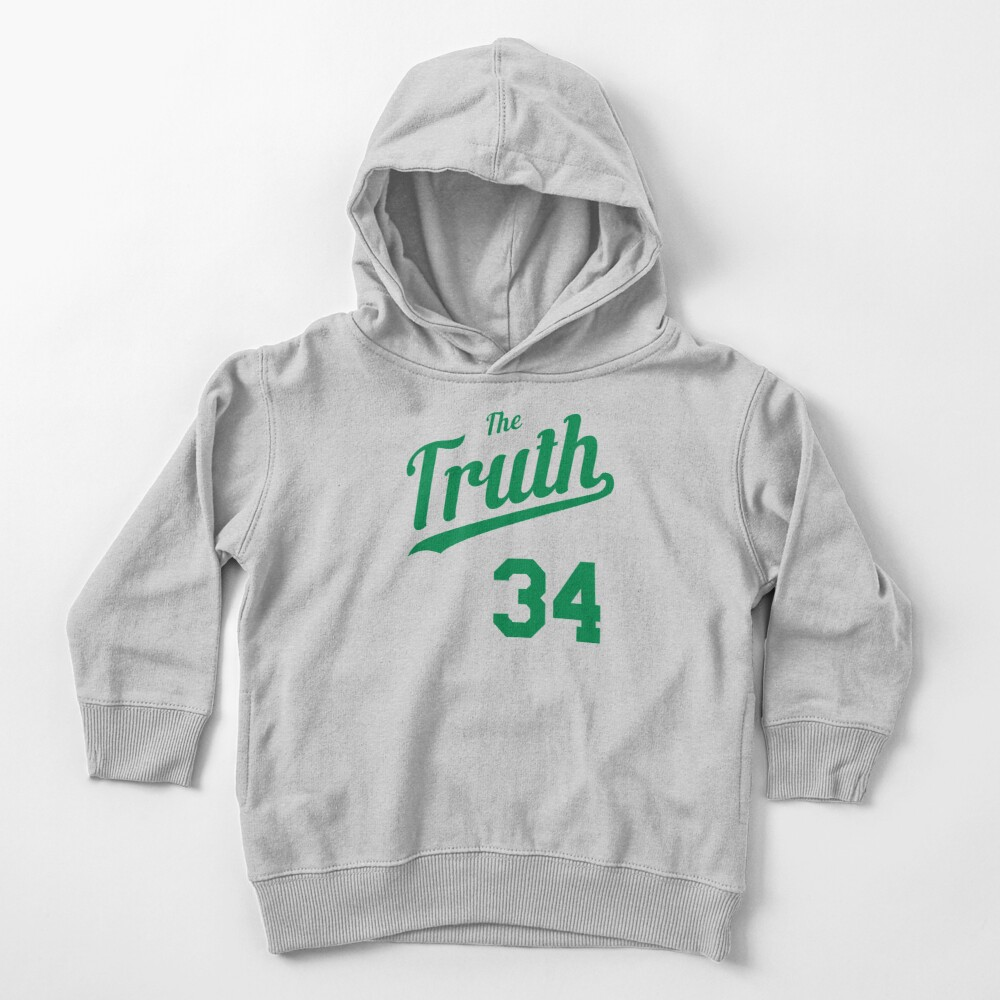 The Truth retro Script 2 Toddler Pullover Hoodie