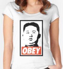 Kimmy Kim Jong Women's Fitted Scoop T-Shirt