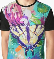 Tiger Swallowtail Butterfly Graphic T-Shirt