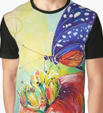 Heliconius Hecale Butterfly Graphic T-Shirt