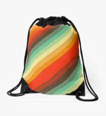 Water colour Rainbow Drawstring Bag