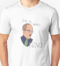 Hello my name's Nino  Unisex T-Shirt