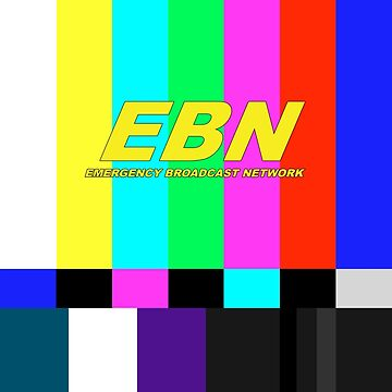 Emergency Broadcast Network Color Bars by Flemishdog