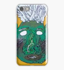 Blow his top Thomas iPhone Case/Skin