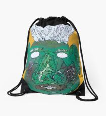 Blow his top Thomas Drawstring Bag