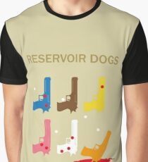 Reservoir Dogs Movie Cover Graphic T-Shirt