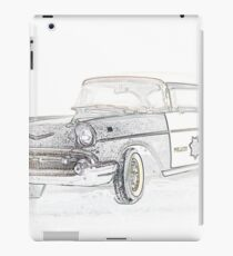 POLICE CRUISER iPad Case/Skin