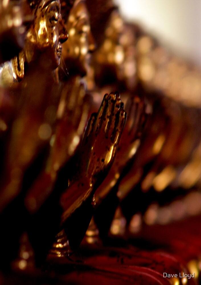 Bronze Buddhas by Dave Lloyd