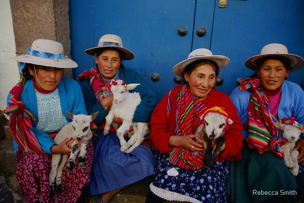 Peru Women by Rebecca Smith