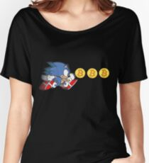 Sonic The Hedgefund - Chasing Bitcoin Women's Relaxed Fit T-Shirt