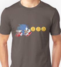 Sonic The Hedgefund - Chasing Bitcoin T-Shirt
