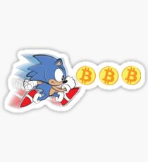 Sonic The Hedgefund - Chasing Bitcoin Sticker