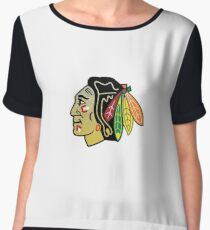 Blackhawks Chiffon Top