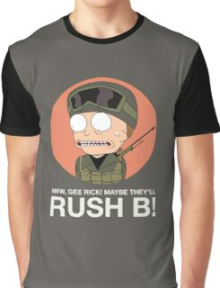 Rick and Morty in CSGO! Graphic T-Shirt