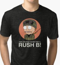 Rick and Morty in CSGO! Tri-blend T-Shirt
