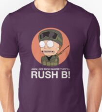 Rick and Morty in CSGO! Unisex T-Shirt