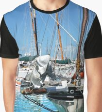 Marinas and Masts Graphic T-Shirt
