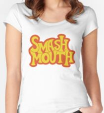 Smash Mouth Women's Fitted Scoop T-Shirt