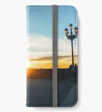 Plaza Real Sunset iPhone Wallet