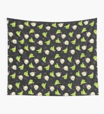 Skulls, zombies and bones Wall Tapestry