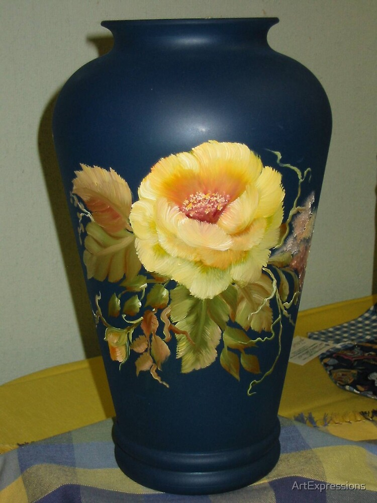 Rose Vase by ArtExpressions