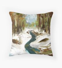 Plein air Throw Pillow