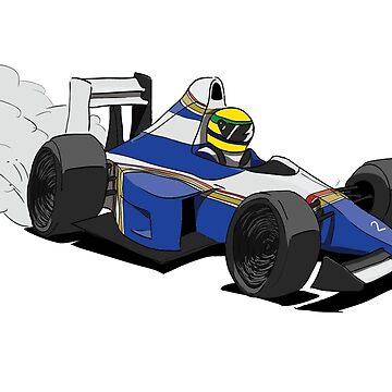 1994 Williams - Senna by FelixR1991