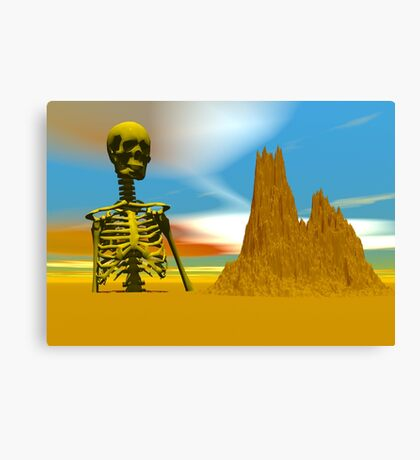 Lost in a Desert Canvas Print