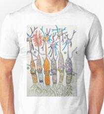 Cone cell neural candlesticks  Unisex T-Shirt