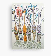 Cone cell neural candlesticks  Canvas Print